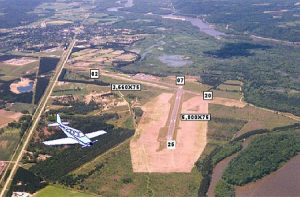 Aerial View of Boscobel Airport