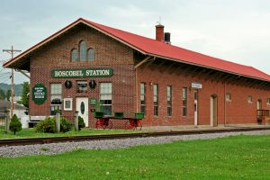 The Boscobel Depot